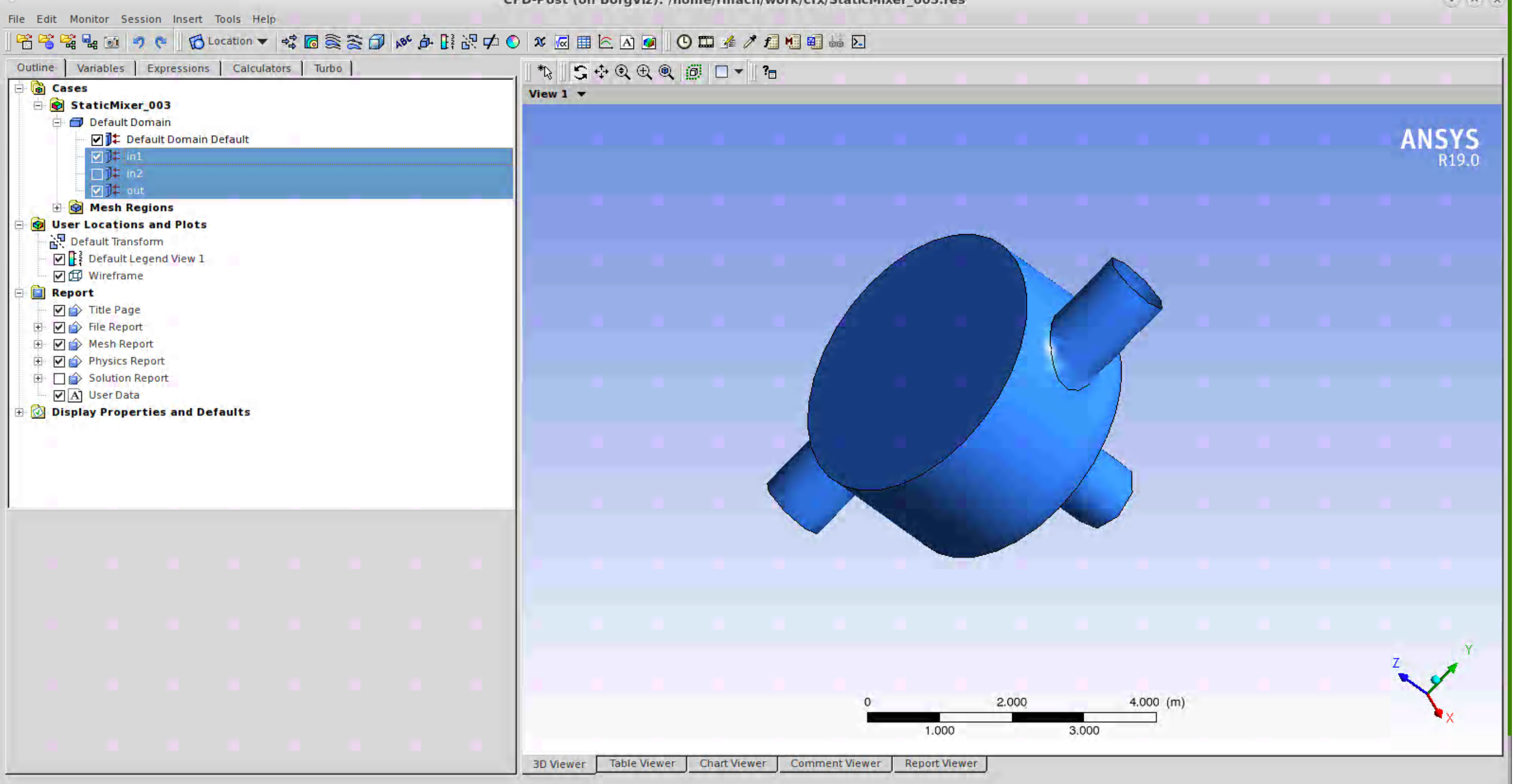 Post Process with ANSYS CFD-Post